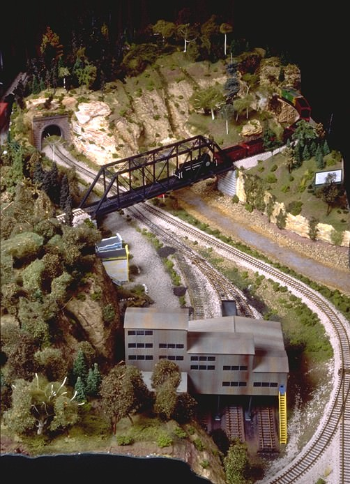 Build a small project model railroad gateway central iv gateway nmra - Ho train layouts for small spaces image ...