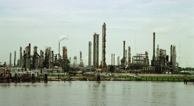 Large Oil Refinery, New Orleans