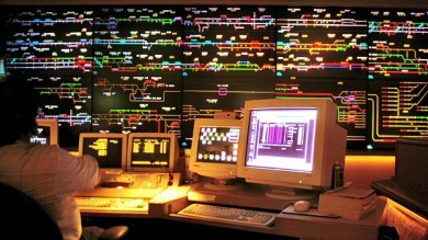 Union Pacific Omaha Harriman Dispatch Center