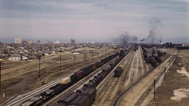 Freight Yards: What Are All Those Tracks?
