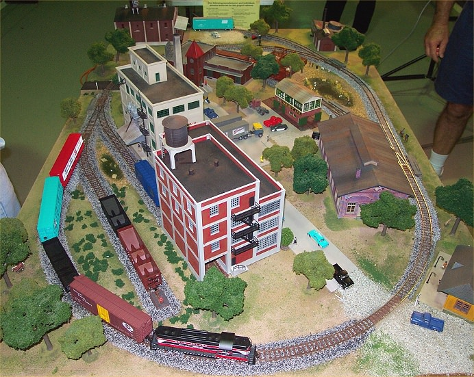 Gateway Central Viii 4x6 Foot Small Ho Scale Model