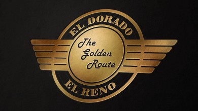 El Dorado and El Reno Railroad Logo