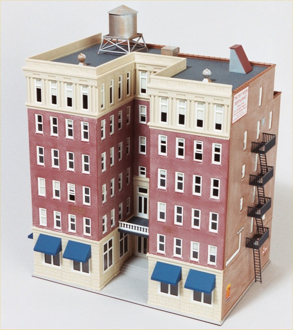 Ho scale model buildings and structures missouri history for Building model houses