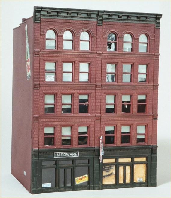Ho scale model buildings and structures missouri history for Architecture t scale