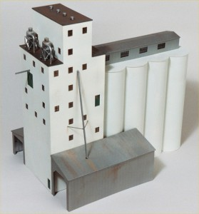 """Walthers Cornerstone """"ADM Grain Elevator"""" 933-3022"""