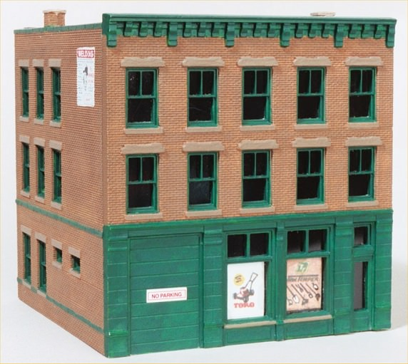 Ho scale model buildings and structures missouri history for Model building plans