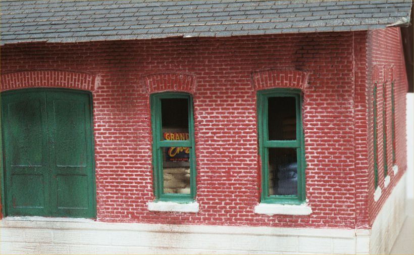 ho scale model buildings and structures