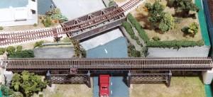 "Micro Engineering ""HO City Viaduct 150' Single Track"" 255-75511"