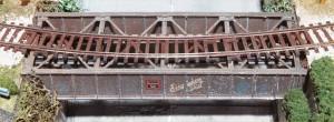 "Micro Engineering ""HO Thru Girder Bridge 50' Single Track"" 255-75520"