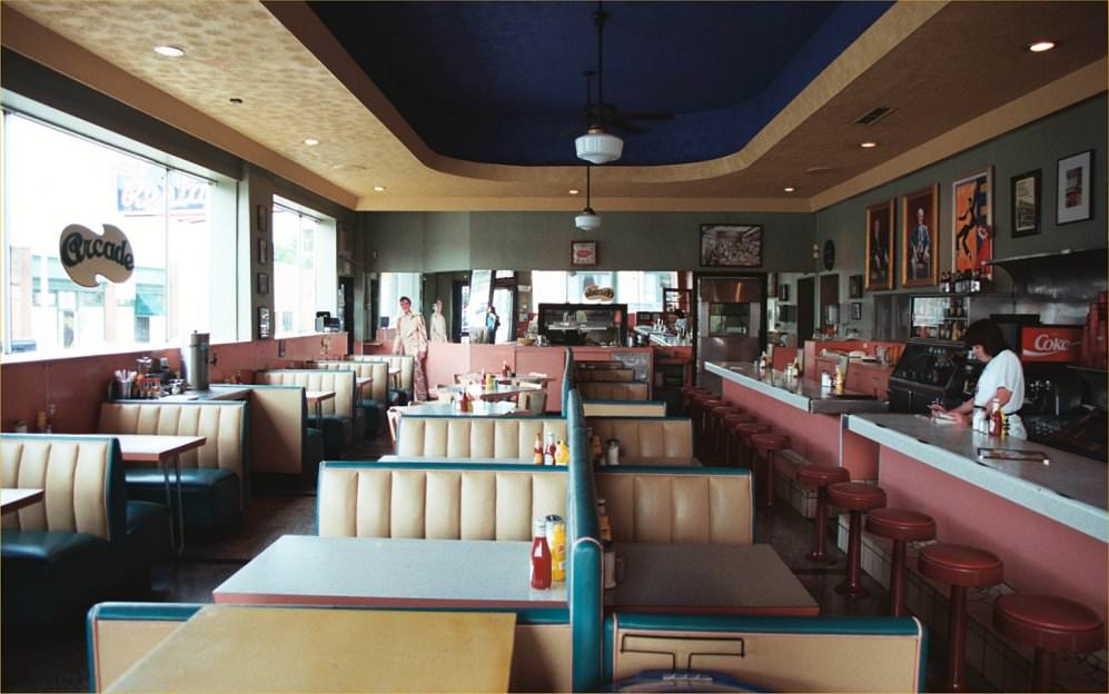 restaurant and diner photographic building interiors
