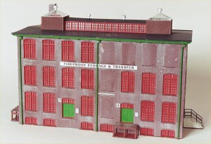 "Walthers Cornerstone ""Front Street Warehouse"" 933-3069"