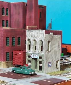 "Design Preservation Models (DPM) Gold Kit ""Entertainment District"" 243-403"