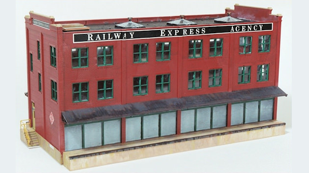 """Walthers Cornerstone """"Railway Express Agency"""" Assembly"""