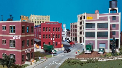Building City Streets Using Walthers Cornerstone Street Systems