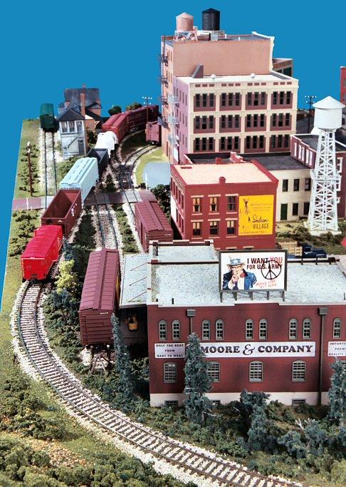 Gateway Central X 4x6 Foot Small Ho Scale City Model Railroad Layout Gateway Nmra