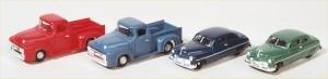 Life-Like Scene Master Vehicles
