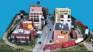 Gateway Central X 4x6-Foot Small HO Scale City Model Railroad Layout