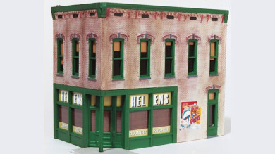 "Building Rix's Smalltown USA ""Helen's Country Kitchen"""