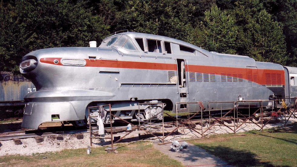 Rock Island Railroad Aero Train