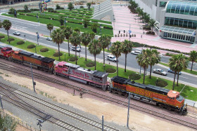 San Diego Hotel Window Railfan