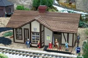 "2004 Missouri Botanical Garden ""Gardenland Express"" Garden Railroad"