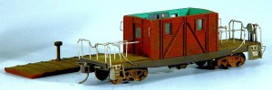 Wood Transfer Caboose