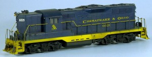Chesapeake & Ohio #6029 Diesel Locomotive