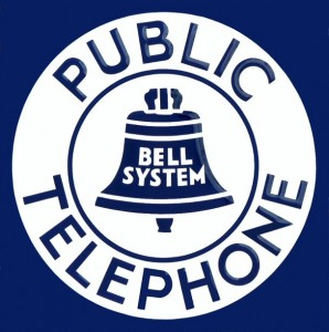 Telephone signs from the Jack Canavera collection