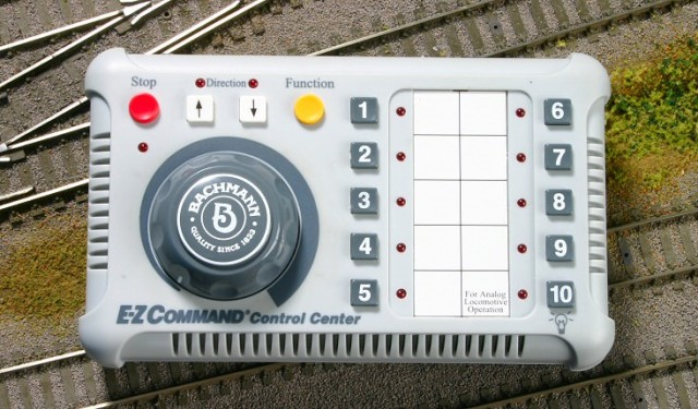 DCC Control was used for multi-train operation.