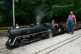 Wabash, Frisco & Pacific Live Steam Railroad Train Picnic 2008