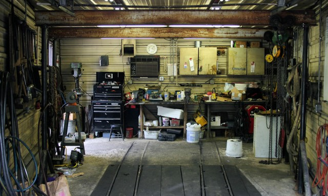 Workshop Interior, Glencoe, Missouri