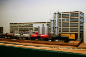 Hank Kraichely's HO Scale Burlington Route Layout