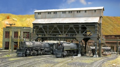 Brad Joseph's Union Pacific HO Scale Amazing Model Railroad