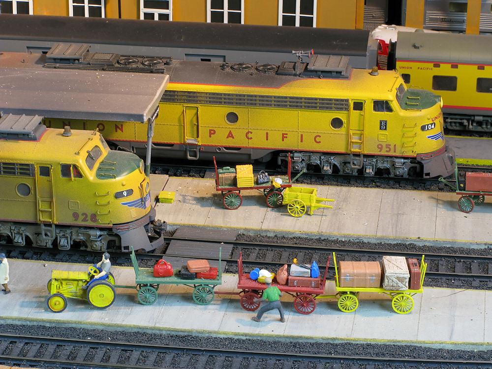 amazing trains brad joseph union pacific ho scale amazing model railroad