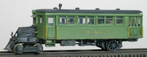 "BC&G Railbus ""A"" Locomotive"