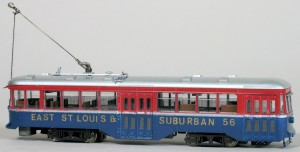 East St. Louis & Suburban #56 Streetcar Traction