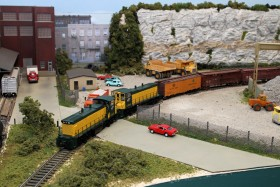 Litchfield Train Group HO Model Railroad Layout