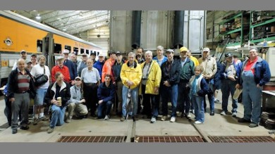 Group photo from the 2010 Gateway Rail Services tour.