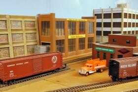 Rick & Venita Lake's El Dorado & El Reno HO Model Railroad