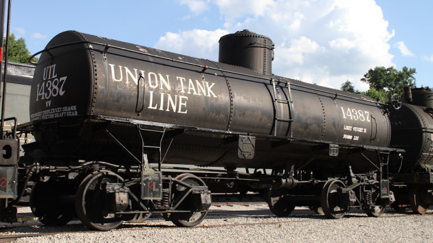 UTL 14387 Tank Car at the Museum of Transportation