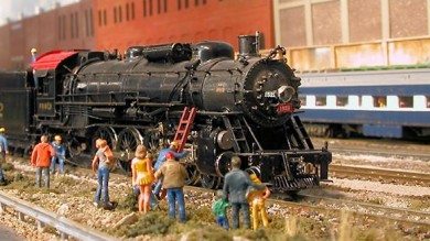 Dave Roeder's Webster Groves & Fenton HO Model Railroad