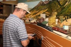 Randy Meyer's Canyon & Rocky Mountain Railroad Rail Op 2010