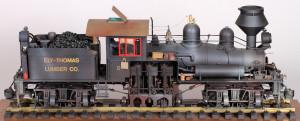 Shay #5 Steam Locomotive