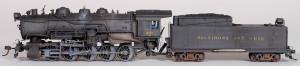 B&O 0-10-0 #951 Steam Locomotive