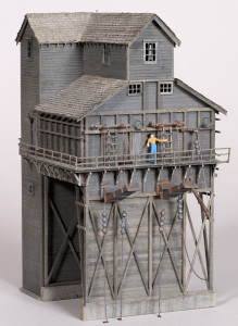Wood Coaling Tower Online Structure