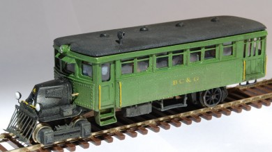 BC&G Mack Model AC Railbus