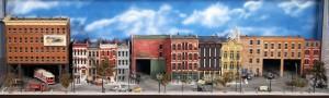 Jacob Libhart's City Streetcar Model Railroad Diorama