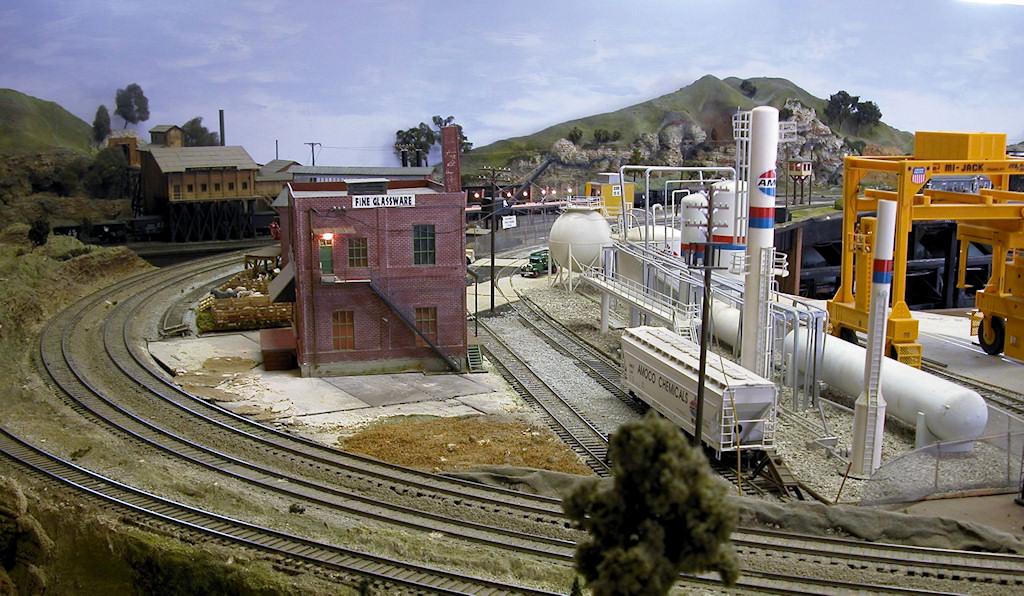 Big Bend Railroad Club O Scale Springfield Amp Ozark Model