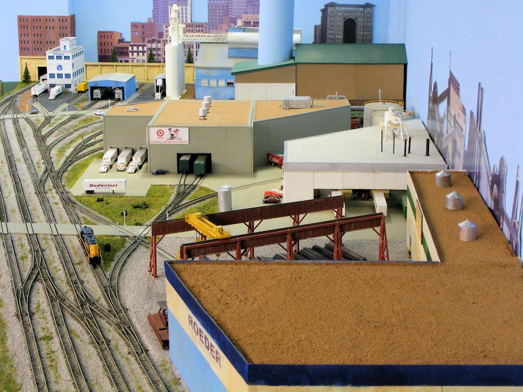 Bob Boedges N Scale Fussin amp Fumin BNSF Model Railroad
