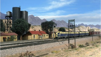 Gary Hoover's HO Scale Santa Fe Model Railroad